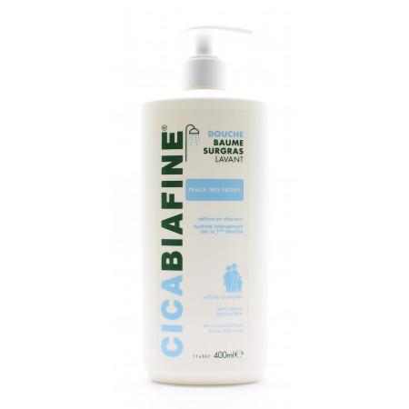 Cicabiafine Douche Baume Surgras 400ml - Univers Pharmacie