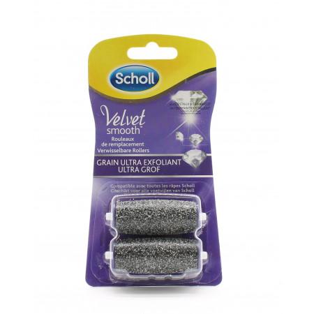 Scholl Velvet Smooth Rouleaux Grain Ultra Exfoliant X2 - Univers Pharmacie