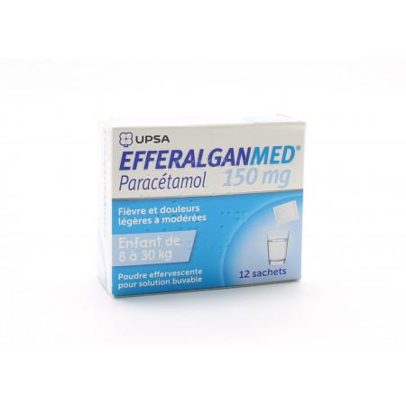 Efferalganmed 150mg 12 sachets - Univers Pharmacie