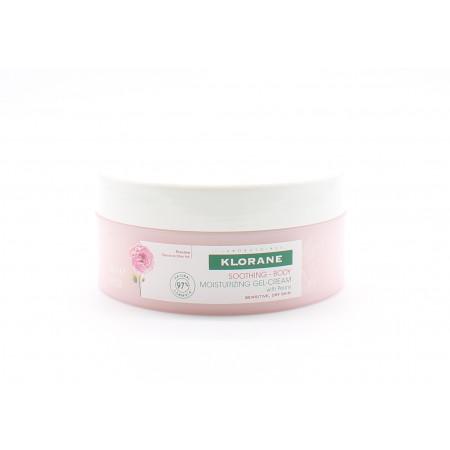 Klorane Gel-crème Hydratant Apaisant Corps Pivoine 200ml - Univers Pharmacie