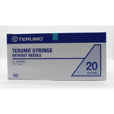 Terumo Seringues sans Aiguille 20cc/ml X50