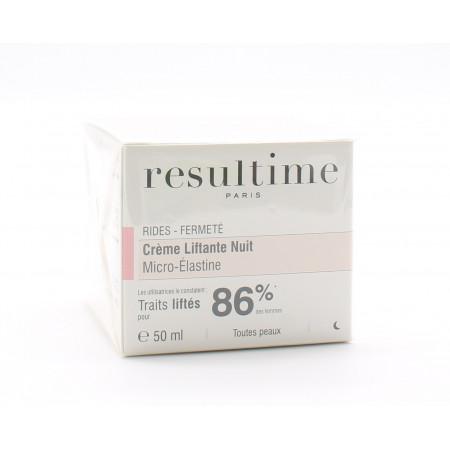 Resultime Crème Liftante Nuit Micro-Elastine 50ml - Univers Pharmacie