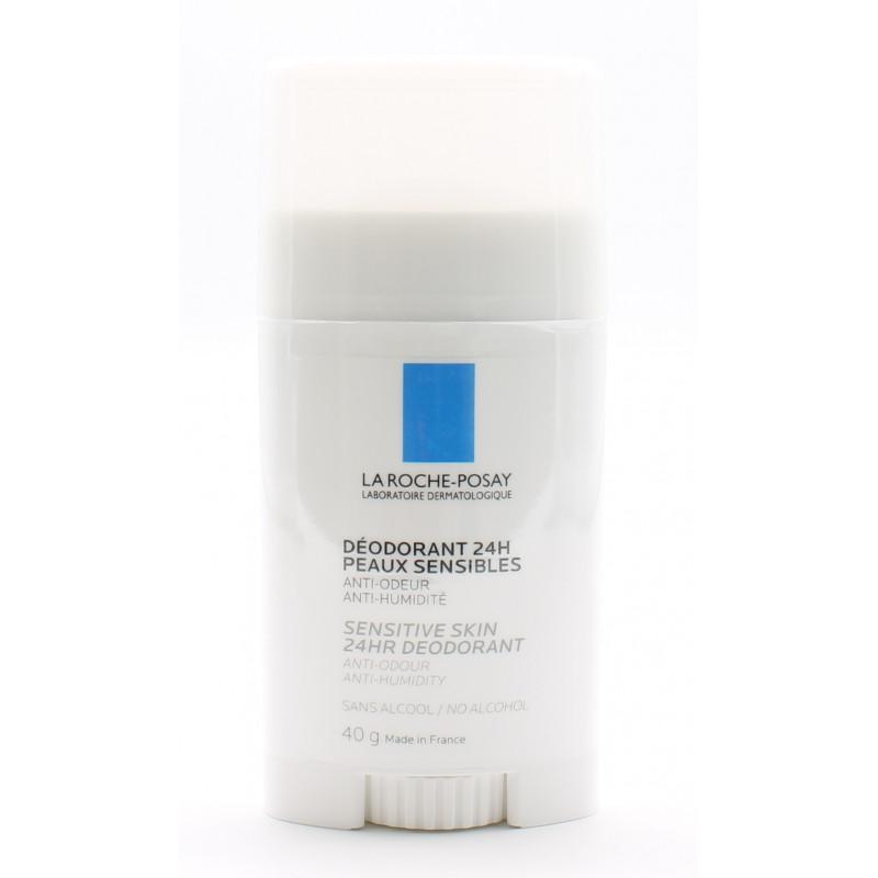La Roche-Posay Stick Déodorant 24h Peaux Sensibles 40g - Univers Pharmacie