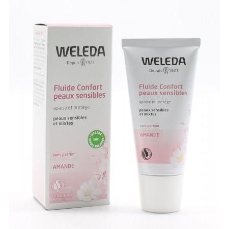 Weleda Amande Fluide Confort 30ml - Univers Pharmacie