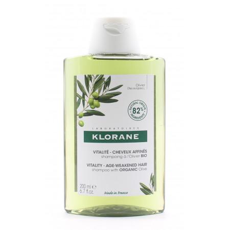 Klorane Shampooing Olivier Bio Vitalité 200ml - Univers Pharmacie