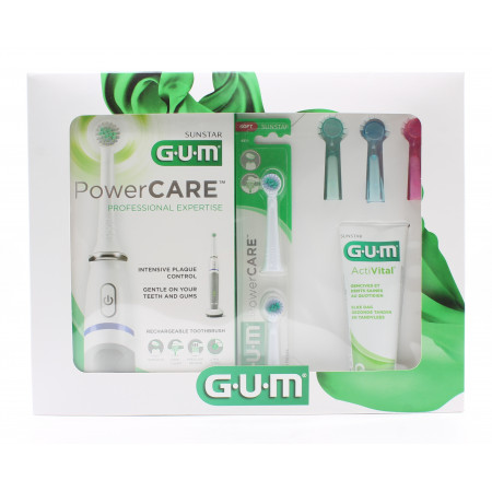 GUM Coffret PowerCare - Univers Pharmacie