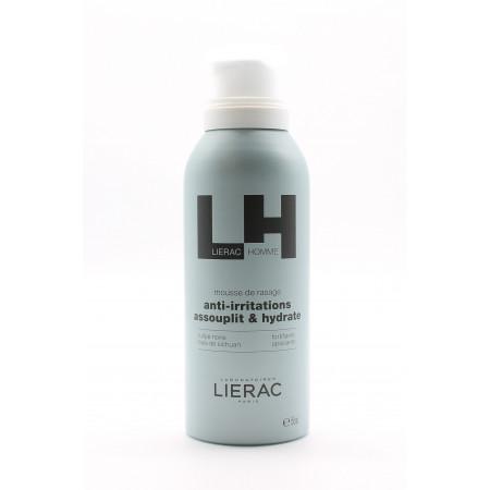 Lierac Homme Mousse de Rasage Anti-irritations 150ml - Univers Pharmacie