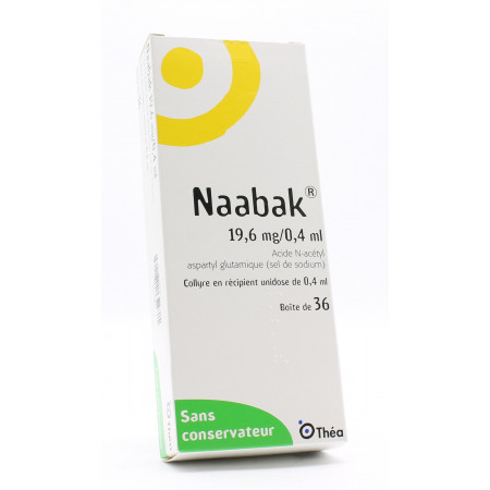 Naabak 19,6mg/0,4ml Unidoses X36 - Univers Pharmacie
