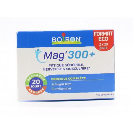 Boiron Mag'300+ 160 comprimés