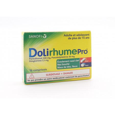 DolirhumePro 16 comprimés - Univers Pharmacie
