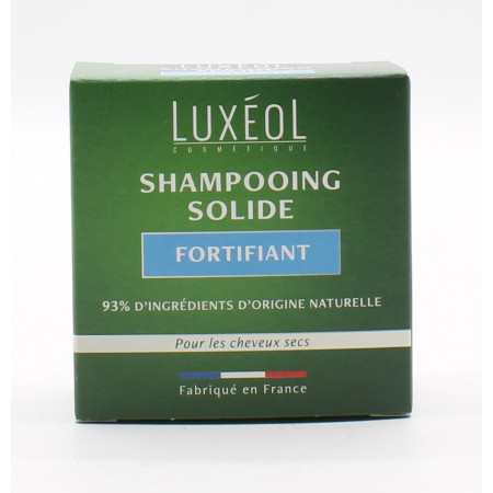 Luxéol Shampooing Solide Fortifiant 75g - Univers Pharmacie