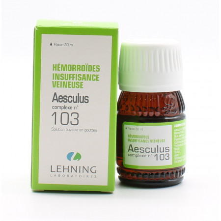 Lehning Aesculus Complexe n°103 30ml - Univers Pharmacie