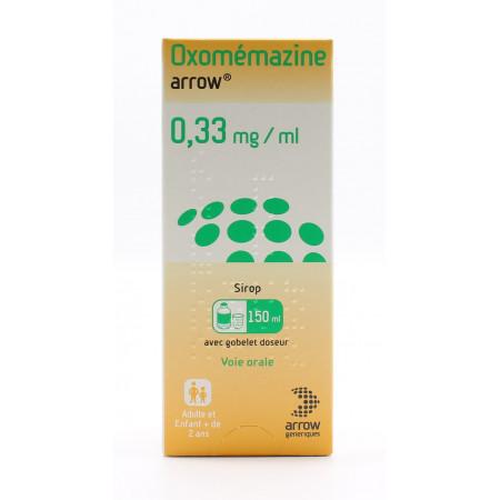 Oxomémazine Arrow 0,33mg/ml 150ml