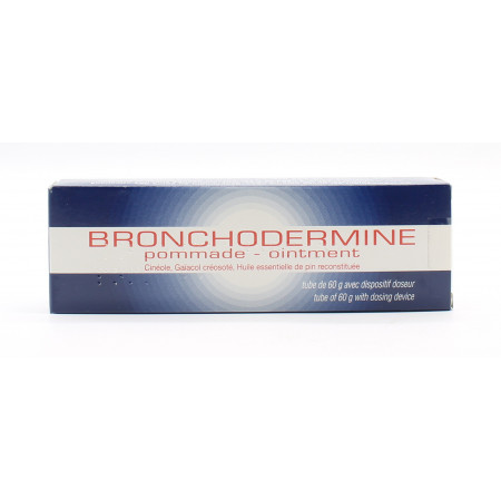 Bronchodermine Pommade 60g - Univers Pharmacie