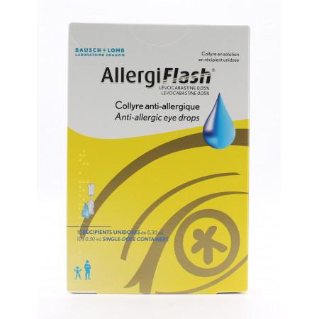 AllergiFlash Collyre 10X0,3ml - Univers Pharmacie