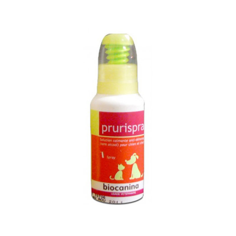 Solution Apaisante Prurispray Biocanina 80 ml