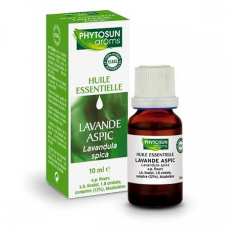 Huile Essentielle de Lavande Aspic BIO Phytosun Aroms 10 ml