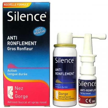 SILENCE COMBIPACK SPRAY GORGE-NASAL