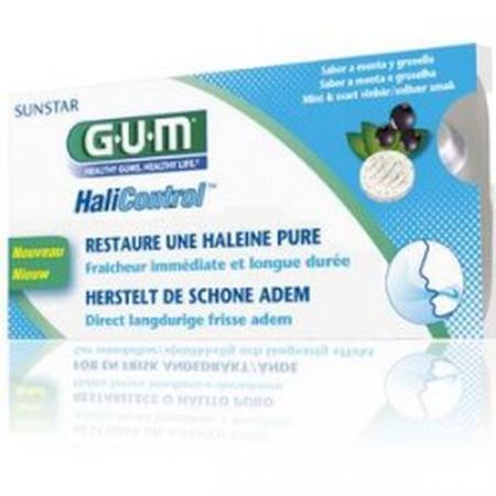 Pastilles HaliControl GUM X10