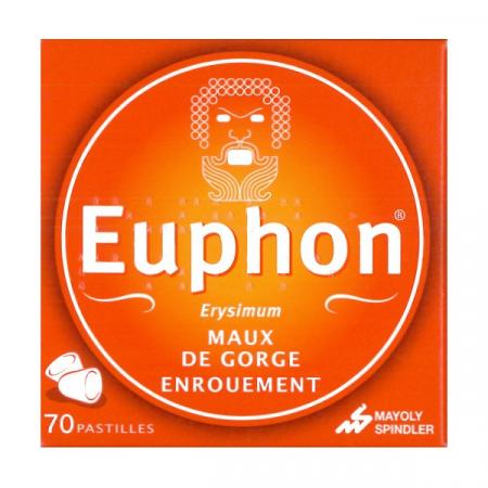Euphon Erysimum 70 pastilles