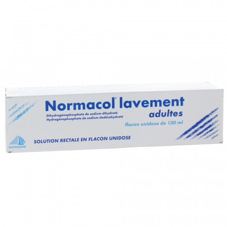 Normacol Lavement Adultes 130 ml