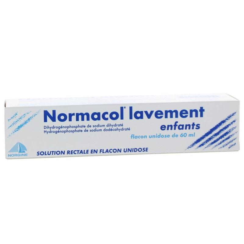 Normacol Lavement Enfant 60 ml