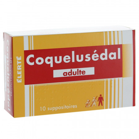 Coquelusédal suppositoires