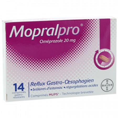 Mopralpro 20 mg 14 comprimés