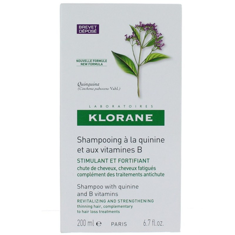 Klorane Shampooing à la Quinine 200ml