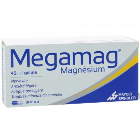 Megamag Magnésium 120 gélules