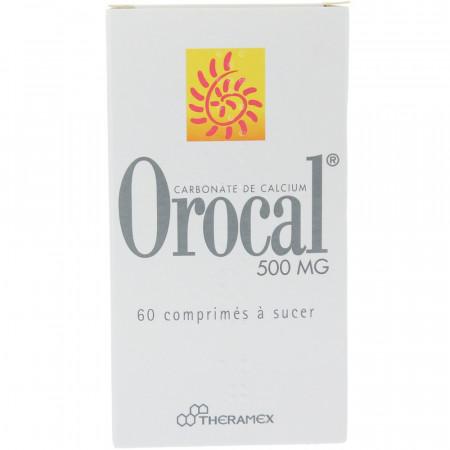 Orocal 500mg boite de 60 comprimés