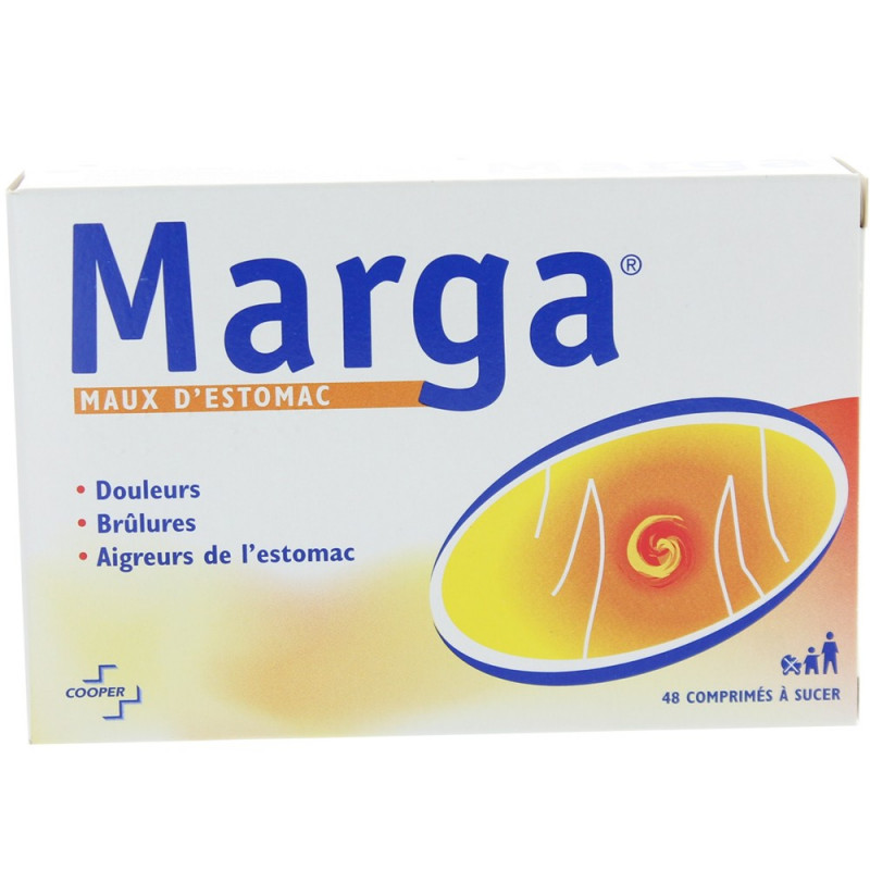 Marga 48 comprimés à sucer