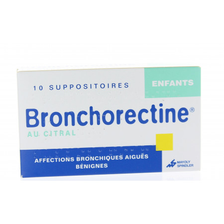 BRONCHORECTINE AU CITRAL suppos enfant