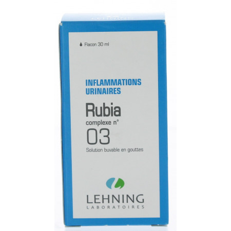 COMPLEXE LEHNING RUBIA N° 3 solution buvable