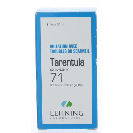 COMPLEXE LEHNING TARENTULA N° 71 solution buvable