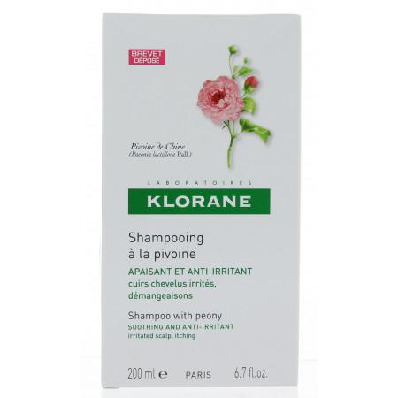 Klorane Shampooing Apaisant à la Pivoine 200ml