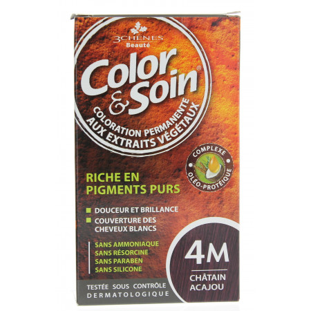 COLOR/SOIN CHATAIN ACAJOU 4M
