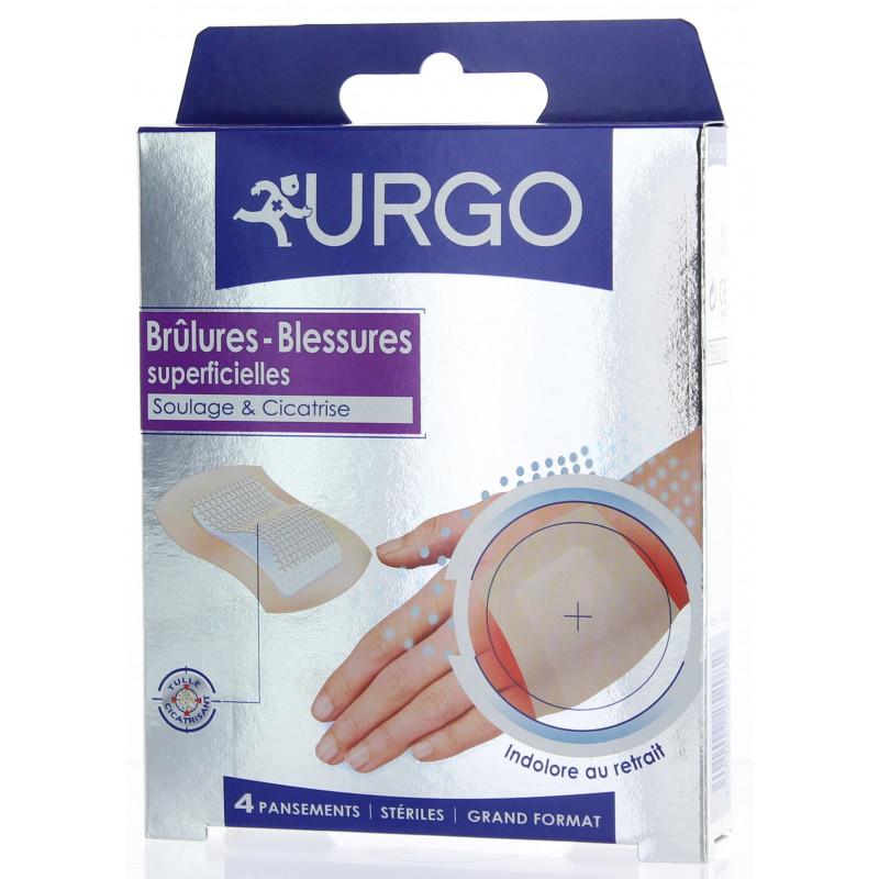 URGO BRULURES PANSEMENT GM 4