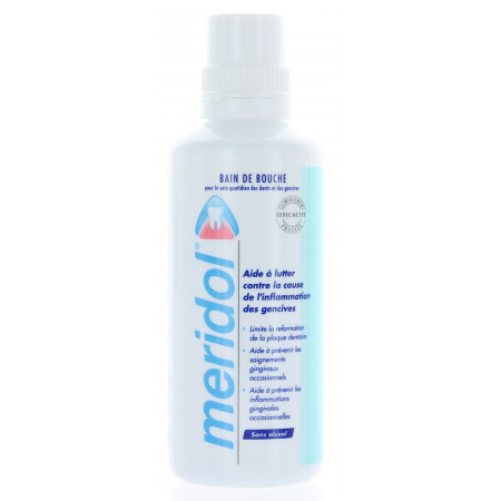 Bain de Bouche Meridol Protection Gencives 400 ml