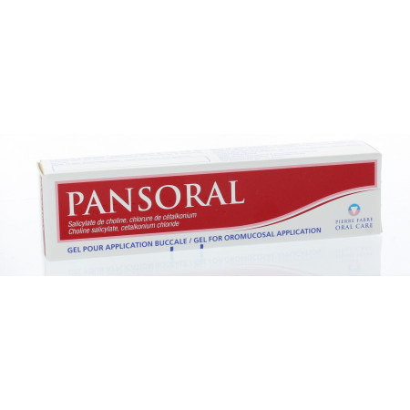Pansoral Gel Buccal 15 g