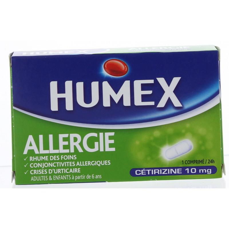 HUMEX ALLERGIE CETIRIZINE 10 mg Comprimés