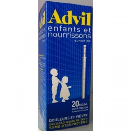 Advil suspension buvable enfants et nourrissons