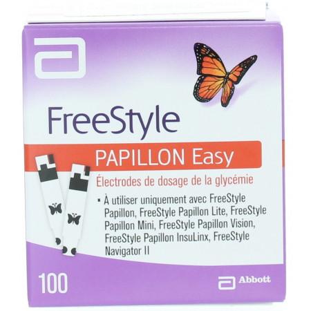 BANDELETTES FREESTYLE PAPILLON EASY boite de 100
