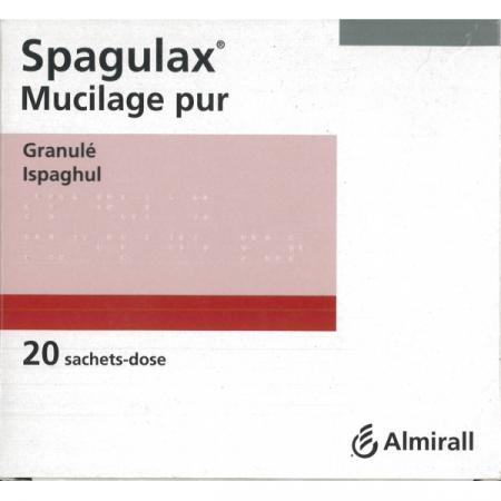 Spagulax Mucilage Pur 20 sachets-dose