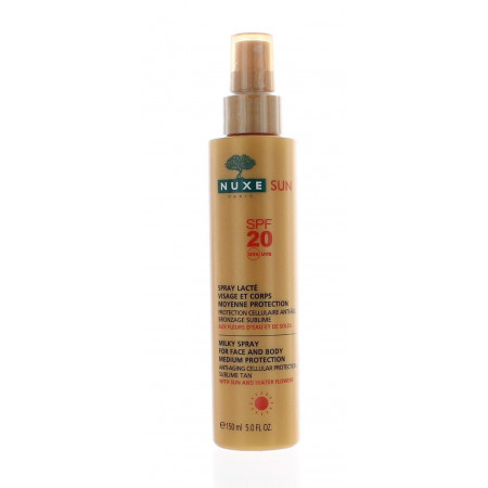 Nuxe Sun Spray Lactée Moyenne Protection SPF20 150ml