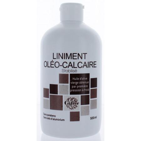 Liniment Oléo-Calcaire Stabilisé Gifrer 500 ml