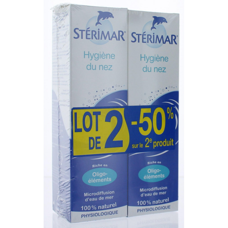 Stérimar Hygiène du Nez 2X100 ml