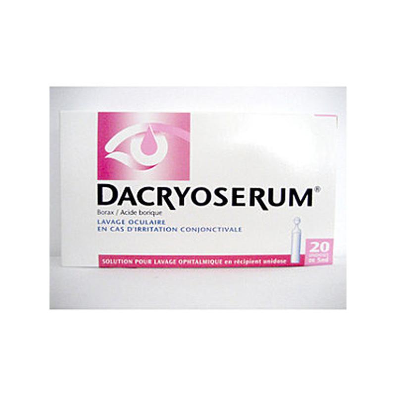 Dacryoserum Lavage Oculaire 20 unidoses