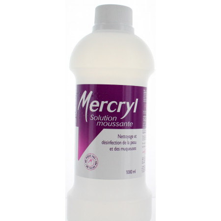 MERCRYL application cutanée moussante