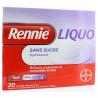 Rennie Liquo sans sucre 20 sachets-dose